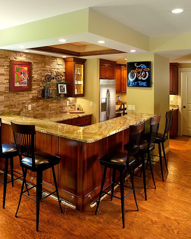 Custom Bar Remodel